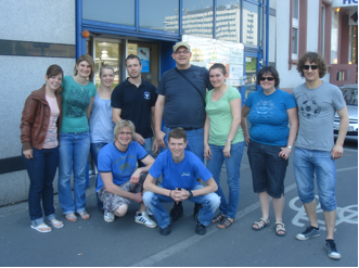 Gruppenbild Osterfahrt