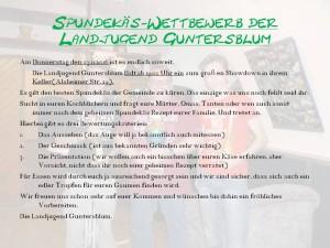 Flyer Spundkäswettbewerb